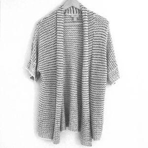 Mid-Length Cardigan Sweater